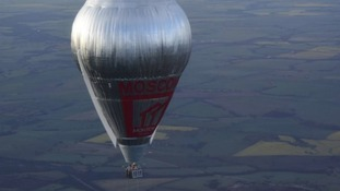 Tracker used to keep tabs on West-built hot air balloon