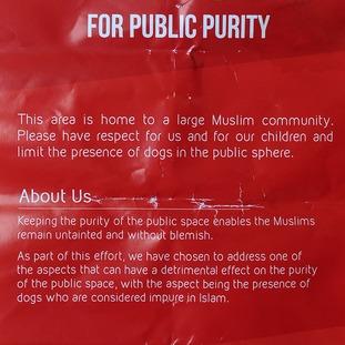 Offending leaflet