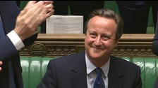 David Cameron was given a standing ovation in his last PMQs.
