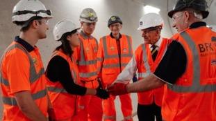 Workers meet Duke of Edinburgh