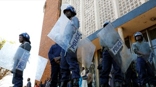 Zimbabwe anti-riot police