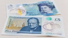The new fiver goes into circulation in September