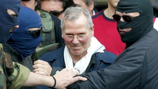 Bernardo Provenzano after his arrest in 2006