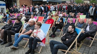 People enjoyed the Sunderland Sports Fan Zone this year