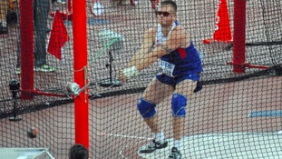 Carlisle hammer thrower Nick Miller