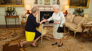 Theresa May becomes prime minister: How the day unfolded in pictures