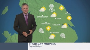 Morning weather update with Jon Mitchell