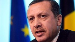 Mr. Recep Tayyip Erdogan, Prime Minister of Turkey.