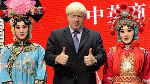 Boris Johnson, on a visit to China in 2013.