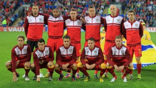 The Wales team