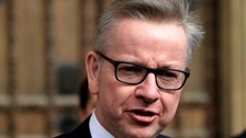 It appears Mr Gove may not make the new cabinet