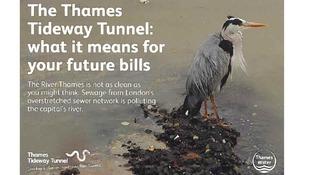 Thames Water leaflet.