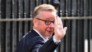 Gove has been sacked from the cabinet