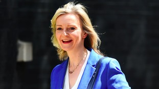 Liz Truss leaves Downing Street today.