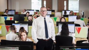 Neil Wilson, First Contact Group director in a call centre