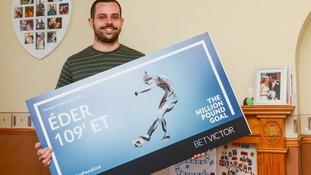 BetVictor winner Daman Chick.