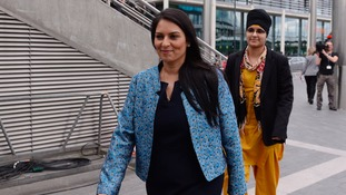 Priti Patel has got a promotion.