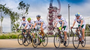 Ride to Rio team finish European leg