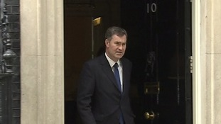 David Gauke leaves Downing Street
