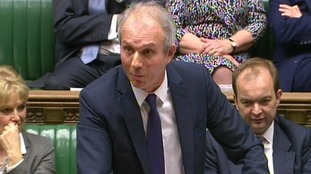 David Lidington in the House of Commons