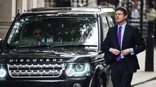 Greg Clark arriving at 10 Downing Street