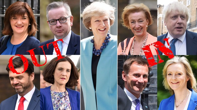 Captivating Cameron Allies Culled As May Appoints U0027boldu0027 New Cabinet .