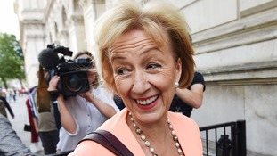 Andrea Leadsom was promoted in May's cabinet despite her previous comments about her.