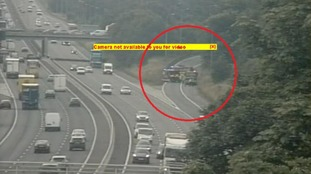 ROADS - M1 - NORTHBOUND - CLOSED DUE TO LORRY FIRE