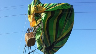 Hot air balloon crash