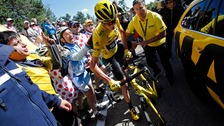 Tour de France leader Chris Froome.