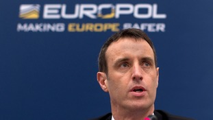 Europol's director Rob Wainwright.