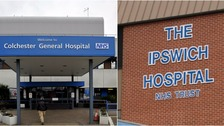 Ipswich Hospital will now run Colchester Hospital.