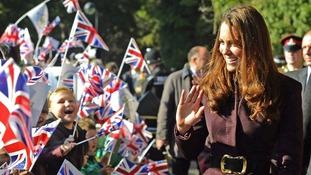 Kate Middleton Karl Lagerfeld