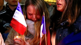 Members of the French-Australian community gather in central Sydney to mourn victims of the Nice attack.