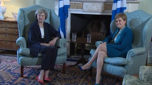 Theresa May and Nicola Sturgeon are to discuss post-Brexit UK.