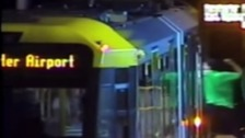 Man attacked tram and passengers