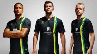 Norwich City have unveiled their new away kit.