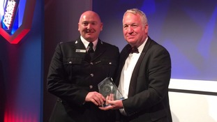Cumbria Police officer wins at National Bravery Awards
