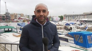 Our weatherman Alex Beresford gives us his forecast for the Bristol Harbour Festival