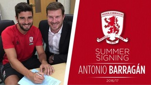 Barragán signs for Boro