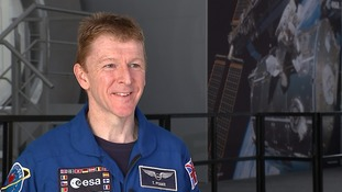 Tim Peake said he would go back to space 'in a heartbeat'.
