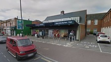 The 17-year-old was found unconscious outside the Tesco Express in Wimborne Road, Wallisdown, Bournemouth