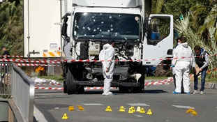 The truck used by Mohamed Lahouaiej Bouhlel to kill at least 84 people