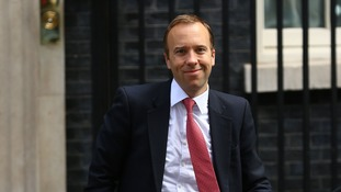 West Suffolk MP Matt Hancock moves from the Cabinet Office to the Department for Culture, Media and Sport.