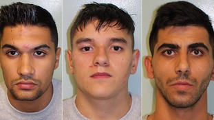Essex gang who 'terrified' victims in a string of robberies jailed for total of more than 14 years