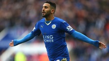 Riyad Mahrez could leave Leicester City