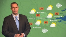 Weather: Warm sunny spells with highs of 31C next week.