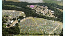 Aerial photos show busy Latitude Festival