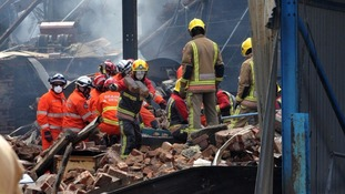 A huge explosion tore through the Bosley Flour Mill a year ago today