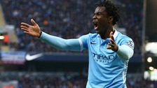 Bony in action for Manchester City